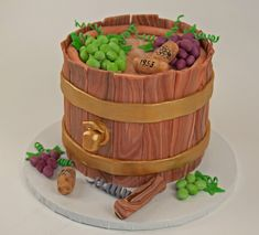 wine and golf cake - Google Search