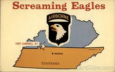 101st Airborne Division @Fort Campbell KY- this was home for a little while for our family  #This one is for Juan #ARMY life❤ #Screaming Eagles