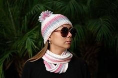 Knit Cowl and Beanie Kit