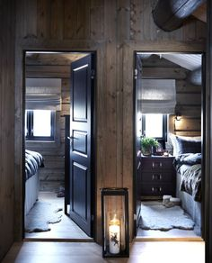 Interior exterior, best interior, cabins and cottages, cabin design, winter Chalet Interior, Best Interior, Interior Design, Interior Doors, Villa Design, Cabin Design, House Design, Cabin Homes, Log Homes