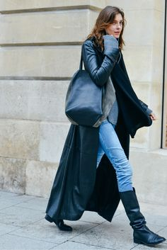 Tommy Ton Shoots the Best Street Style at the Couture Shows - Gallery - Style.com  proportion. color. boots.