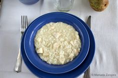 Castelmagno and Pear Risotto