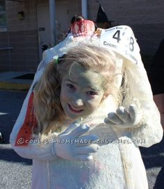 Headless Zombie Bride Costume