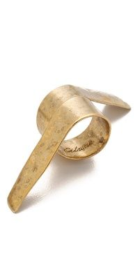 Citrine by the Stones Plie Ring