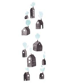 Happy Houses Illustration - Babasouk
