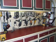 What's on your walls? Neat storage ideas! - Page 8 - The Garage Journal Board