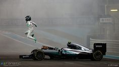 World champion Nico Rosberg, Mercedes AMG Hybrid. Photo by XPB Images on November 2016 at Abu Dhabi GP. Nico Rosberg, Mercedes Amg, Verona, Mick Schumacher, Abu Dhabi Grand Prix, Funny Photoshop Pictures, Auto Motor Sport, Formula 1 Car, Motosport