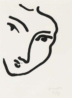 Henri Matisse, Nadia au menton pointu