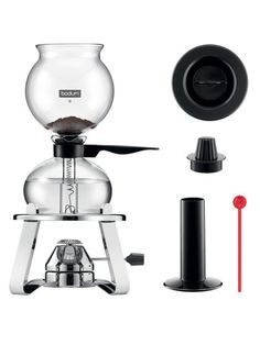 Pebo Vacuum Coffee Maker with Burner and Accessories (5 PC) by Bodum at Gilt $174 $109
