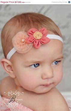 60% Fund Raising Sale Baby Headband by BlissfulBowtiqueLLC