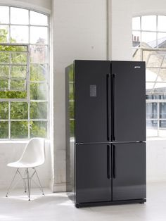 Smeg introduce Black french door refrigerators | Smeg COM