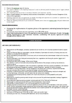 b com resume format for experienced page 2 career pinterest