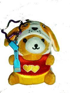 Adorable teddy bear phone battery. So cute