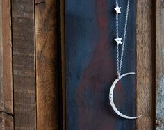 Seeing The Dark Side of the Moon Necklace with Two by SoulPeaces