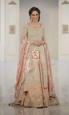 Faraz Manan Pakistani Bridal Wear 2014
