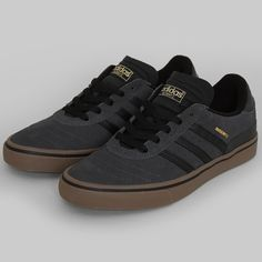 Adidas Busenitz Vulc shoes dark grey