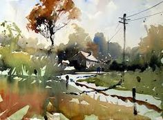 Artist: Tim Wilmot #watercolor really never seen this