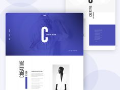 Ознакомьтесь с этим проектом @Behance: «Creative Landing Page Design iii» https://www.behance.net/gallery/43435349/Creative-Landing-Page-Design-iii