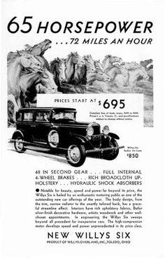 1930 Willys Knight Deluxe Sedan