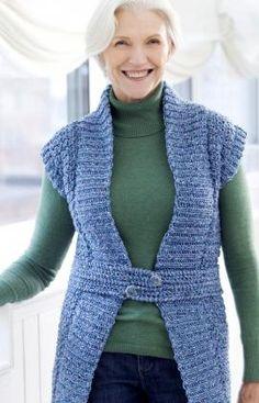 Long Tabard Crochet Pattern