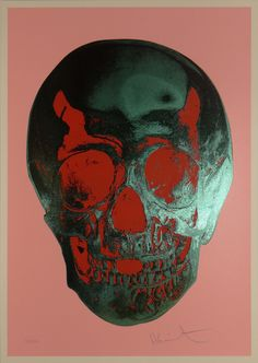 Til Death Do Us Part - Candy Floss Pink/Racing Green Red Pop Skull (2012)