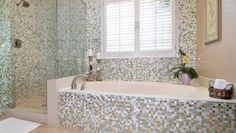 Like this layout for a bathroom -- probably with a different tile.