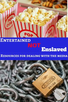 Do you feel enslaved by the media? Do you worry about your kids on the internet or TV? We have some resources to help you free yourself and your kids!