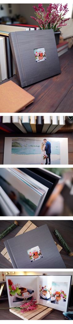 Give your Woodland Albums a new twist with our metalic paper for your layouts and cameo! Photos by Ben Q Photography