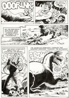 Spiegle - Space Family Robinson #45 Comic Art