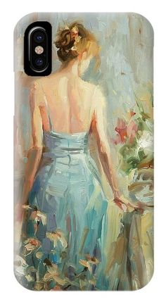 Thoughtful, iphone or galaxy phone case from Steve Henderson Collections,  adding a sense of vintage nostalgia to the world of high tech.