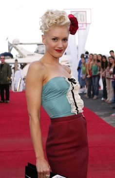 Gwen Stefani Style Evolution: From Sporty No Doubt Singer To Glamorous L.A.M.B. Designer (PHOTOS)