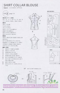 مجموعة باترونات قمصان وسراويل وتنانيرخياطة و تفصيل