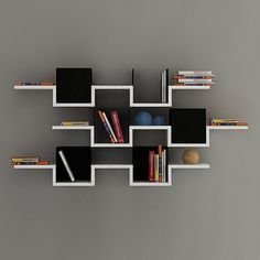 Bookshelf Design 2020 – What is the standard size of a bookshelf? – Sayfa 10 – Home Ideas Bookshelf Design, Wall Shelves Design, Bookshelves, Bookcase Wall, Wall Shelving, Wall Design, Wood Furniture, Furniture Design, Furniture Deals