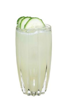 to make an english garden use rutte dry gin, pressed apple juice, st germain elderflower liqueur, freshly squeezed lime juice and garnish with cucumber slices. shake
