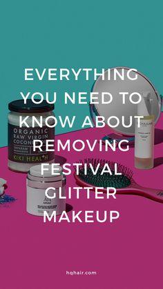 How to remove festival face glitter eyeshadow gypsy shrine go get glitter coconut oil hair makeup