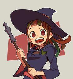 Akko Kagari #Little Witch Academia #Ritoru Witchi Akademia