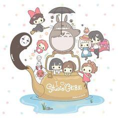 I love Studio Ghibi