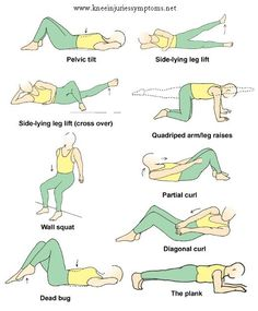 For runners who get knee pain - exercises that strengthen the knees to help you run with good form.