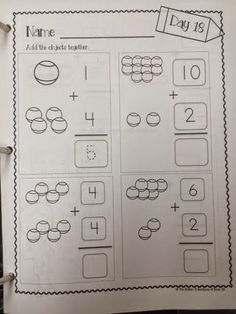 math worksheet : daily math practice level 4 subtraction with visuals  math  : Math Worksheets For Special Needs Students