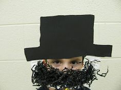 everyone can look like Abe Lincoln!
