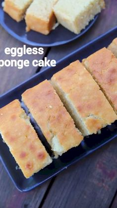 eggless sponge cake, plain cake recipe with step by step photo/video. plain basic cake recipe with all purpose flour without any flavours and frosting. Easy Sponge Cake Recipe, Eggless Sponge Cake, Sponge Cake Recipes, Easy Cake Recipes, Cupcake Recipes, Eggless Desserts, Eggless Recipes, Eggless Baking, Baking Recipes