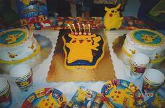 Pokemon Cake table.