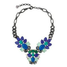Stella & Dot Peacock Necklace $58.95