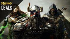 Elder Scrolls Online, PSN And LIVE Updates, 4K Monitor [Deals]