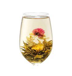 Fleurs de thé 2 DRAGONS & 1 PERLE Pack de 12  Beauté et
