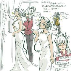 Doom Demons, Anime Monsters, Comic Art Girls, Scott Pilgrim, Demon Girl, Weapon Concept Art, Bleach Anime, Jojo Bizzare Adventure, Game Art