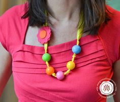MargotMadison: Sweet Candy Birthday Party #candynecklace #candycrafts #candyparty #gumballnecklace
