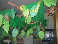 rainforest classroom themes | So I thought I should include sooooome school stuff just to prove my ...