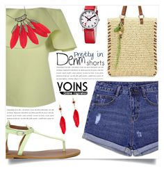 Yoins 4 by captainsilly on Polyvore featuring polyvore, fashion, style, Mondaine and clothing