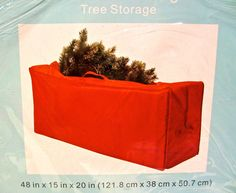 Seasonal Tree Storage Baghandlezipper Closurered Polyester48x15x20 *** Continue to the product at the image link. (Note:Amazon affiliate link) #christmastreestoragebag Christmas Tree Storage Bag, Kitchen Storage, Bag Storage, Seasons, Holiday Decor, Red, Image Link, Handle, Bags